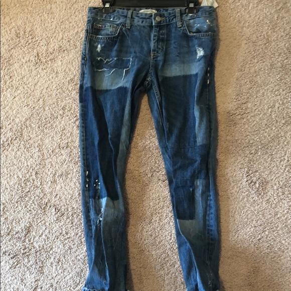 Zara Denim - Zara boyfriend jeans
